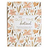 My Quiet Time Devotional | 365 Devotions for Women To Bring You Into The Peace Of The Presence of God | Peach Floral Softcover Flexcover Gift Book Devotional