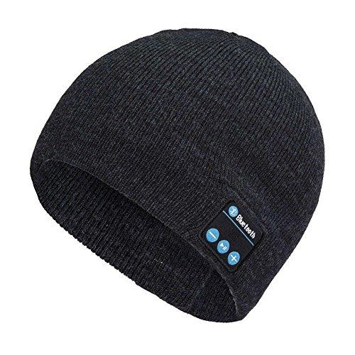 Switty Bonnet Bluetooth sans fil en tricot avec microphone intégré Unisexe
