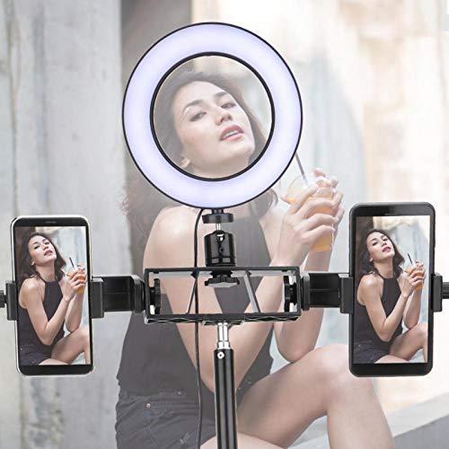 DAUERHAFT Anillo de luz LED Luz de Relleno LED portátil Bajo Consumo de energía LED, Fotografía