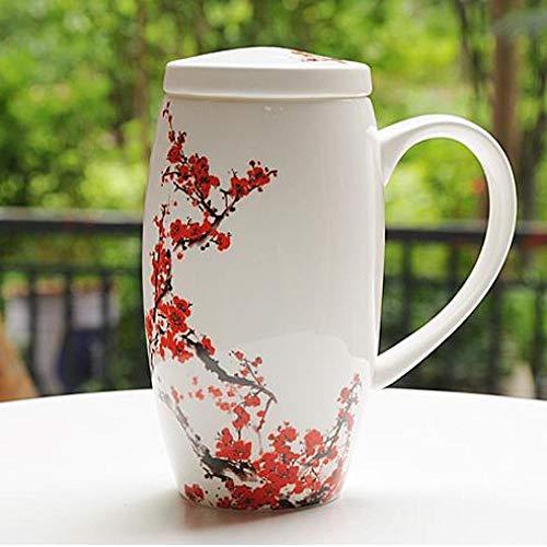 Tasse Becher Boutique Hotel luxuriöses Café 9 Farben optional 700ml Hohe Kapazität Becher Mit Deckel Einfache Porzellan Kreative Trinkglas Büro Tasse Weibliche Keramik Tasse M 700ml