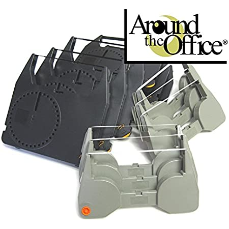 Combo Pack of 6 Typewriter Ribbons & 6 Correction Lift Off Tapes for IBM Lexmark Wheelwriter 6 (Series 2) Typewriter by Around The Office