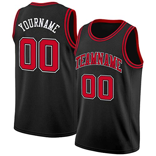 Custom Men Youth Athletic Basketball Jerseys Team Uniforms Printed & Stitched Personalized Letters and Number