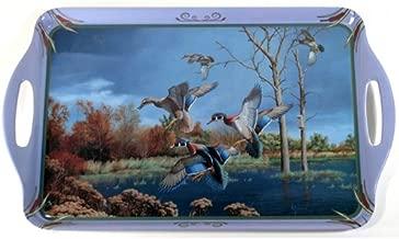 منتجات Motorhead 11بواسطة مقاس 18بوصة ملامين وجبة طعام ، تتميز Wild أجنحة مرخصة رسمي ً ا الأعمال الفنية الخاصة مع الطيور المائية بواسطة David maass