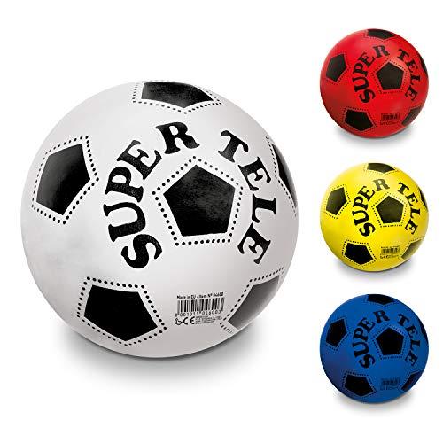 Mondo Toys -Pallone Super Tele BIO Bambino-Colori assortiti-BioBall-04600, Multicolore, 5, 04600
