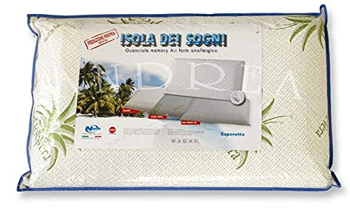 Niucci - Cuscino in Memory Air Double Forato Lavanda Saponetta Niucci