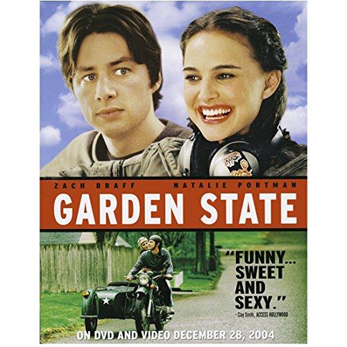 Garden State (2004) 8 Inch x10 Inch Photo Zach Braff & Natalie Portman Title Poster kn