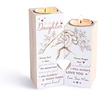Ideal for Wedding Centerpiece Table Decorations and Home Decor. 2Krmstr 4 Pcs Wooden Tea Light Candle Holders L O V E Letters Romantic Creative Mini Candle Holder Tealight Candlestick Table Decorations