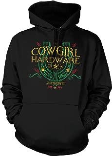 Hoodteez Cowgirl Hardware, Lucky Horseshoe Hooded Sweatshirt