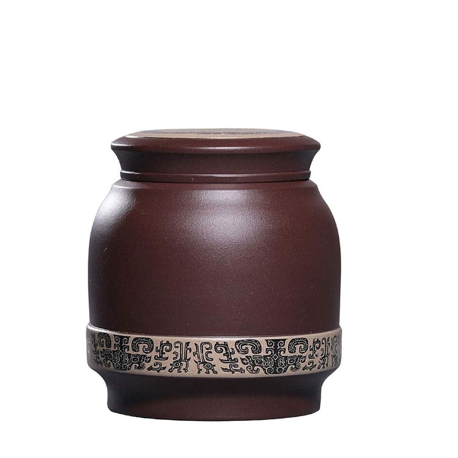 ハウス勝利したネイティブ骨壷|纳骨壺|分骨壺大人の灰|人間の大中規模の記念灰|中国の手作りの陶磁器と手描きのお土産|家や墓地 (Color : #3, Size : Honorable)