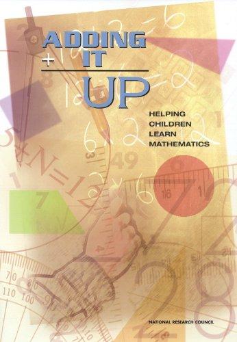 Adding It Up: Helping Children Learn Mathematics