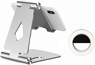 Kuty Cell Phone Stand with Led Light, Adjustable and Stable, Magnetic Design, Compatible with Compatible with Switch, All ...
