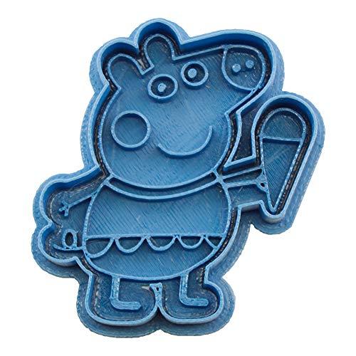 Cuticuter CGPEPPAHELADO Cortador de galletas, Azul