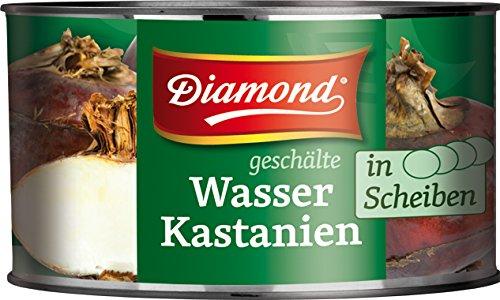 3er Pack DIAMOND Brand [3x 227g] Wasserkastanien in Scheiben