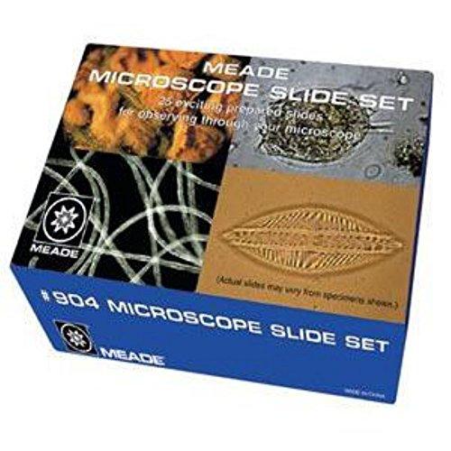 Meade Instruments #904 - Microscope Slide Set (25 pc)