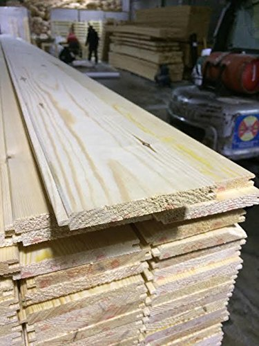 Pine Timber Vgroove Cladding 13x110mm 5 x 2.25M Length