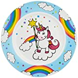 WMF Vajilla infantil con diseño de unicornio, 19,0 cm, porcelana, apta para lavavajillas,...