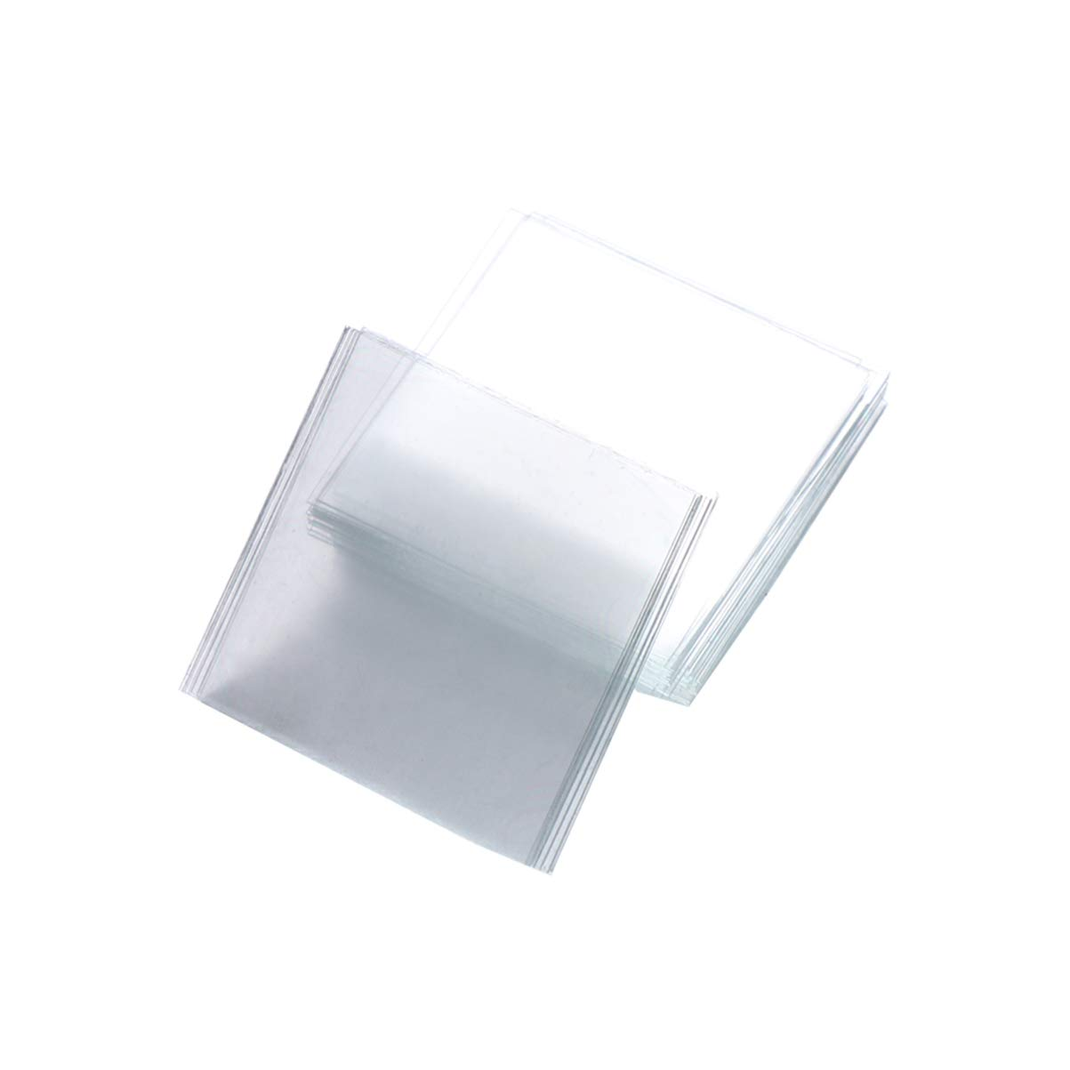 Baluue 100 PCS Financial sales sale San Antonio Mall Microscope Slides Microsc Coverslips Cleaned Pre-