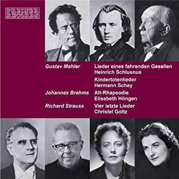 Lieder von Gustav Mahler, Johannes Brahms und Richard Strauss