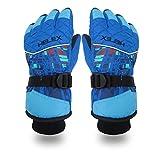 LZH Wasserdicht Winddicht Ski Handschuhe Winter Schnee Snowboard Handschuhe Warme Thermische Unisex Herren Damen Handschuhe, Pink, XL