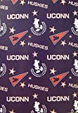 Northwest Officially Licensed NCAA Uconn Huskies 50'X60' Mickey Mouse Character Fleece Throw