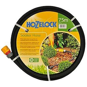 Hozelock 6762 Manguera Porosa diámetro 13 mm 15 M, Negro