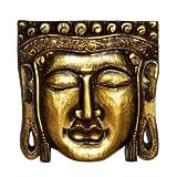 Edle Gold Buddha Maske Feng Shui Budda Bali Maske41