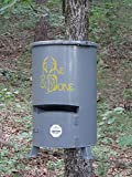One and Done Game Feeder - Built to Last - Loads 130lbs or 250 lbs (30 Gallon Scout Game Feeder)