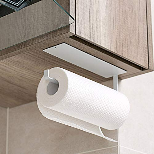 Kitchen Roll Holder, Kitchen Paper Rack Wall Mounted, Toilet Roll...