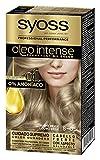 Syoss Oleo Intense - Tono 8-05 Rubio Beige – Coloración permanente sin amoníaco – Resultados de peluquería – Cobertura profesional de canas