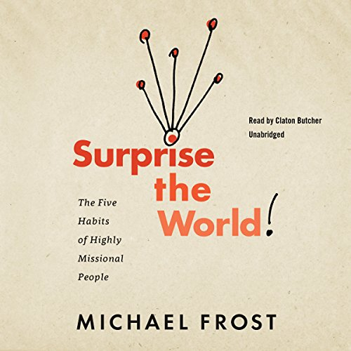 Surprise the World audiobook cover art