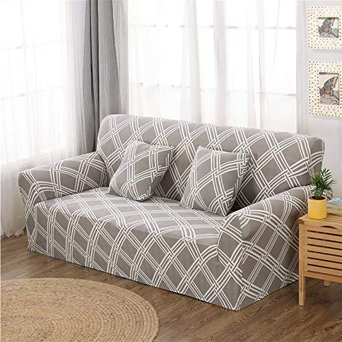 NEWRX Tapa de sofá de Estiramiento Tapa de sofá de Asiento elástico Todo Incluido para la Sala de Estar Muebles Fundas Fundas de (Color : Color 21, Specification : 1 Seat 90 140cm)