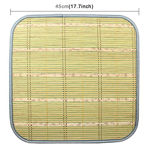 DUANDUAN-Seat cushion- Car Auto Cooling Bamboo Seat Cushion Pad Mat for Family Office Car(Random Color Delivery).