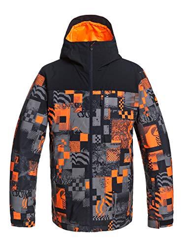 Quiksilver Z0OL0 Morton - Giacca Da Snowboard Da Uomo Giacca Da Snowboard, Uomo, shocking orange radpack, XXL