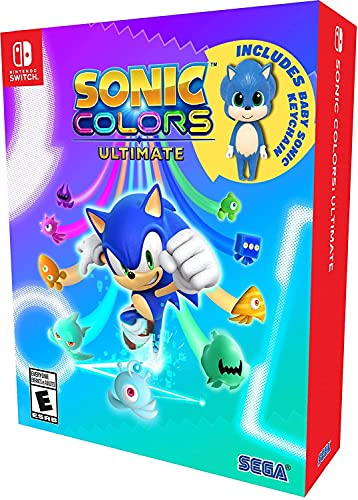 Sonic Colors: Ultimate Launch Edition for Switch is on sale for $33.88.    Amazon:  GameS…