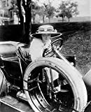 Automobile C1910. /Namerican Actress Crystal Herne