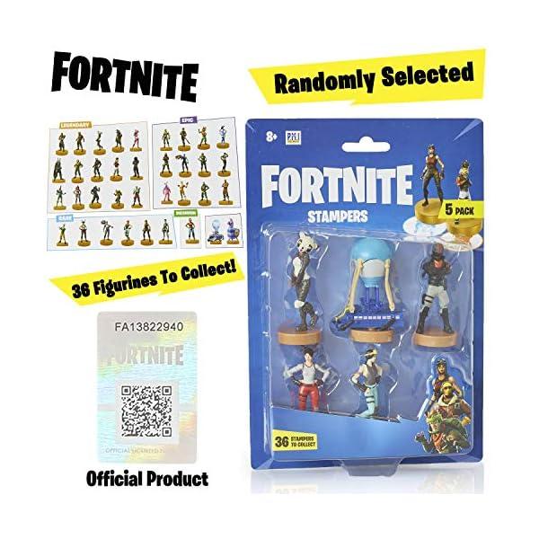 Fortnite figuras de acción | Juego de 5 figuras de Fortnite juguete coleccionables | Juguetes para adultos y niños… 3