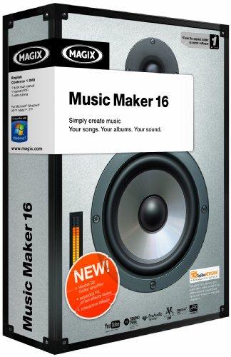 Magix Music Maker 16 (PC DVD)