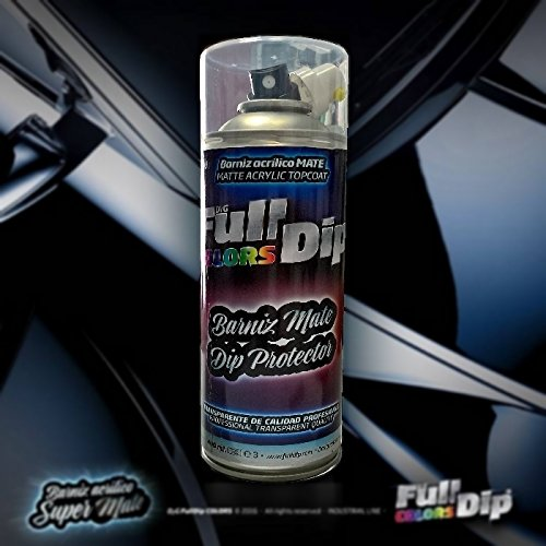 Sophisticauto Vernice acrilica Full Dip Trasparente Opaco 1k Top Coat