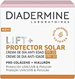 Diadermine - Lift+ Protector solar crema de día, 50 ml, Acción reafirmante & protección UVA/UVB/IR