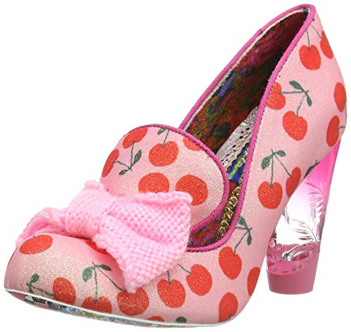Irregular Choice Damen Bowtiful Pumps, Pink (Pink Dark), 37 EU