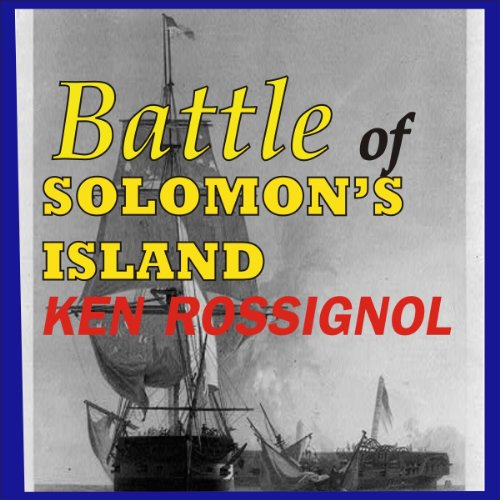 Battle of Solomon's Island audiobook cover art