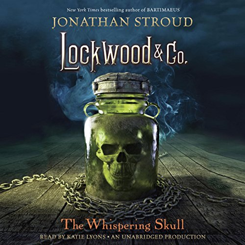 The Whispering Skull     Lockwood & Co., Book 2              By:                                                                                                                                 Jonathan Stroud                               Narrated by:                                                                                                                                 Katie Lyons                      Length: 11 hrs and 37 mins     804 ratings     Overall 4.6