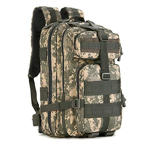 N\A Assault Trekking Pack, Molle Bag, Outdoor 3 Day Extensible 40L Backpack Hiking Bug Out Bag, Sac À Dos d'alpinisme 40L pour Les Voyages De Randonnée, De Camping Et d'escalade (Noir)