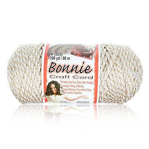 4MM Bonnie Cord, 100 Yards, Oatmeal - Macrame Cord