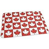 Cambiador Para Bebé,Almohadilla Para Cambiar Pañales Con Bandera De Canadá De La Hoja De Arce Canadá Almohadilla Para Cambiar Pañales Portátil Impermeable Para Niños Y Niñas 65X80Cm