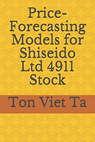 Price-Forecasting Models for Shiseido Ltd 4911 Stock: 165