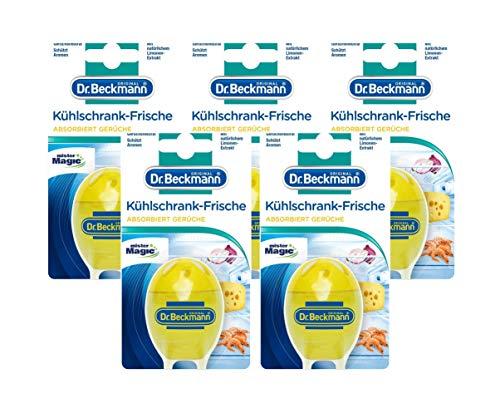Dr. Beckmann Kühlschrank Frische Limone 5x | Mit natürlichem Limonen-Extrakt