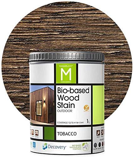 Barniz Madera Exterior | Bio-based Wood Stain | 1 L | Barniz
