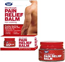 Ultra Strength Pain Relief Balm, (Pack of 4) .63oz