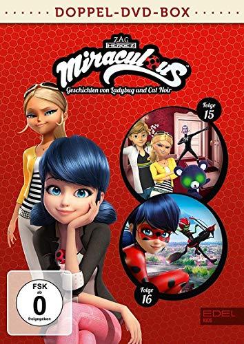 Miraculous - Geschichten von Ladybug und Cat Noir - Doppel-DVD-Box (Folgen 15 + 16)